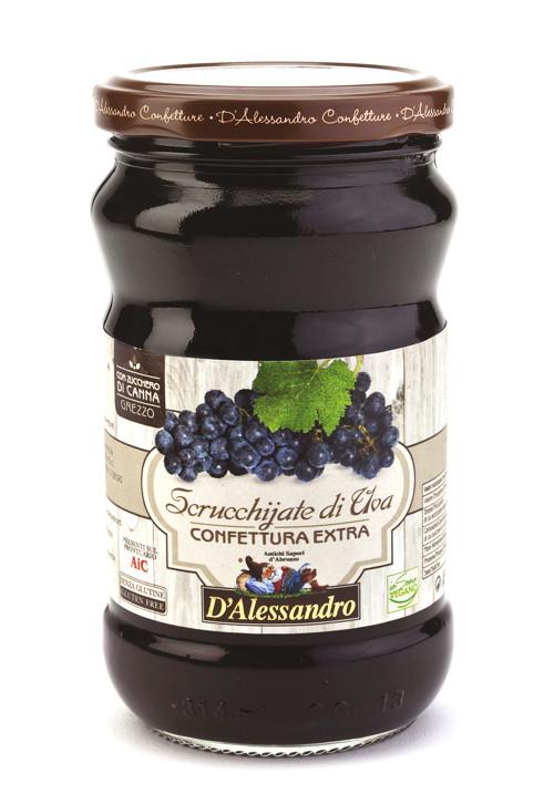 Конфитюр экстра из винограда 360 г, Confettura extra di Uva, D'Alessandro confetture 360 gr