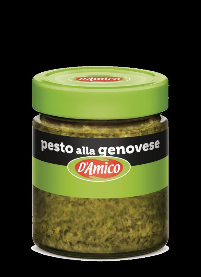 Песто Дженовезе 130 г , Pesto alla Genovese D'Amico 130 gr.