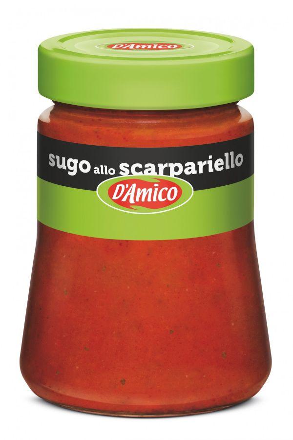 Соус томатный Скарпариелло 290 г, Sugo Scarpariello D'Amico 290 gr