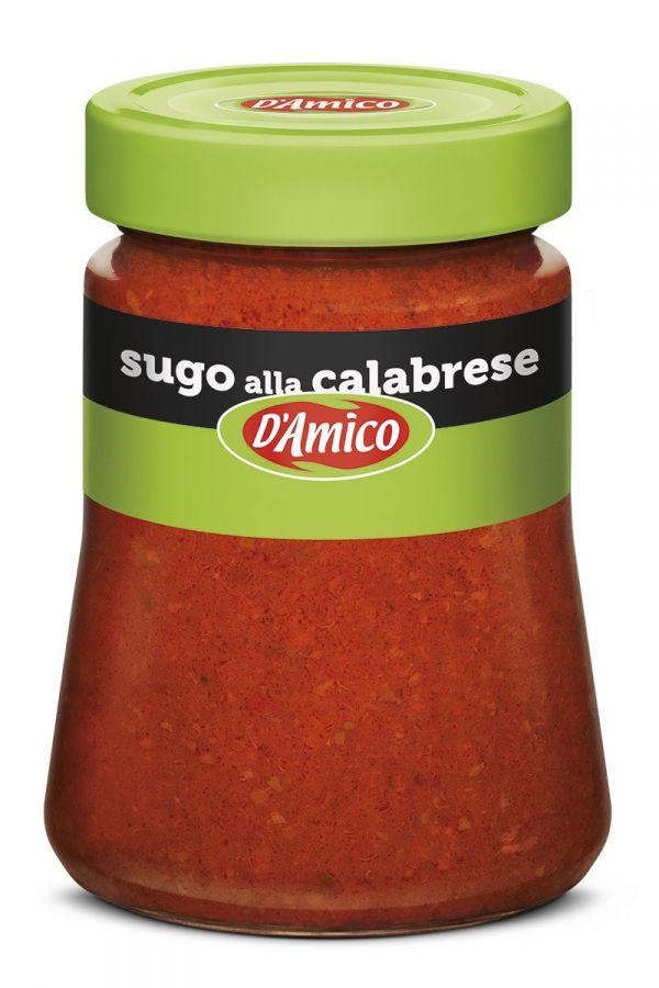 Соус томатный калабрезе с острым перцем 290 г, Sugo alla Calabrese con peperoncino D'Amico 290 gr