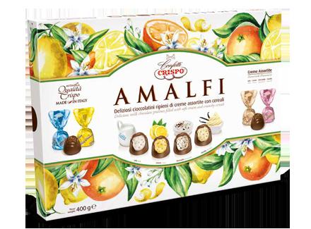 Конфеты Амальфи 400 г, Amalfi Crispo gr. 400