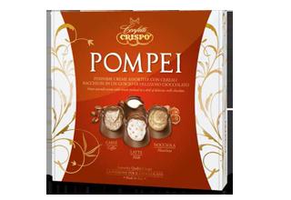 Шоколадные конфеты Помпеи 250 г, Praline Pompei, Confetti Crispo, 250 gr