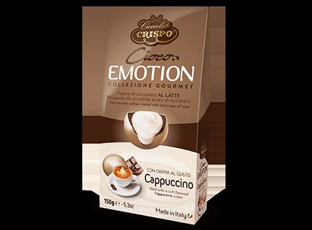 Шоколадное драже с кремом Капучино 150 г, Cioco emotion Cappuccino, Confetti Crispo, 150 gr
