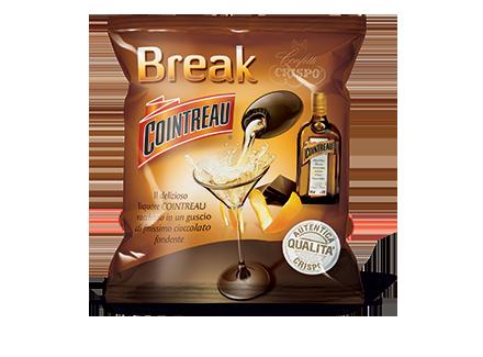Конфеты куантро 90 г, Break cointreau busta  Crispo g 90