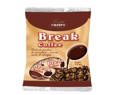 Конфеты Брейк 90 г, Break coffee busta Crispo g 90