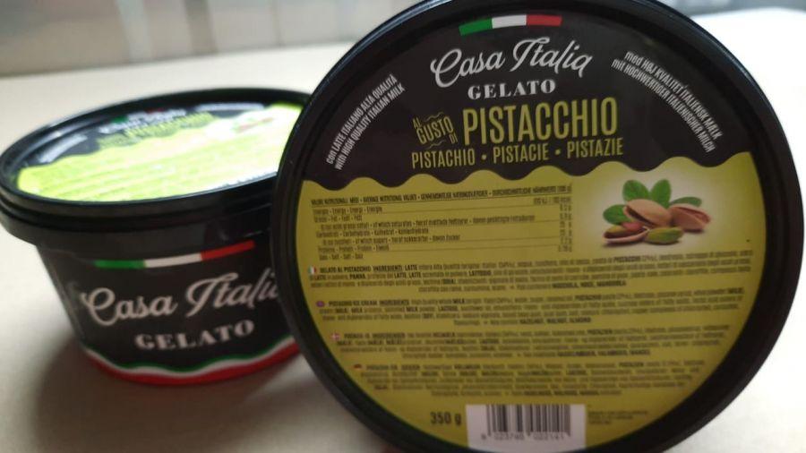 Мороженое Фисташковое 350 г, Gelato Pistacchio, Casa Italia 350 g