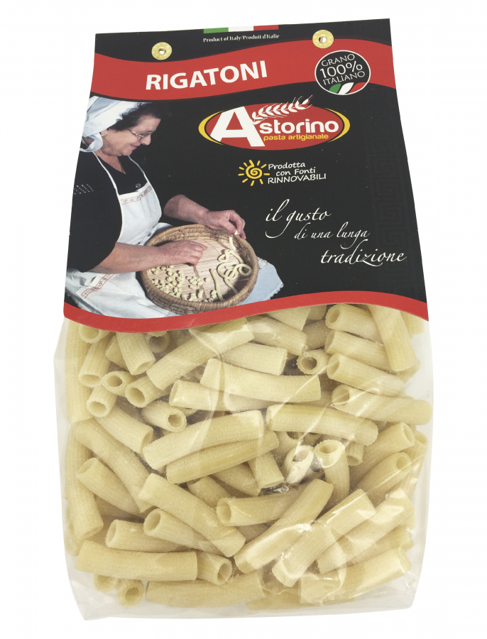 Паста Ригатони 500 г, Rigatoni Astorino 500 gr