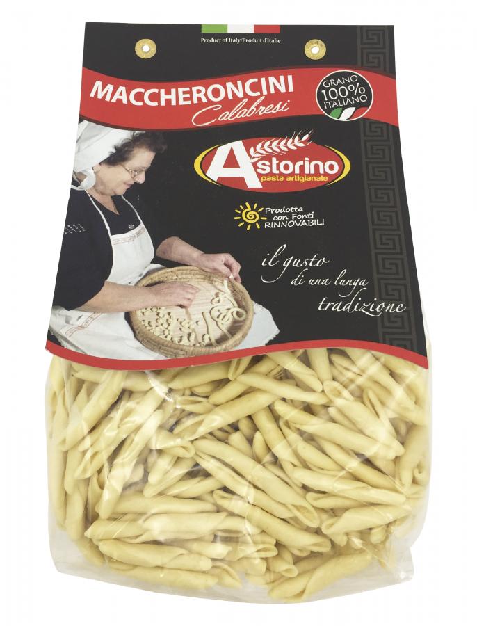Паста Маккерончини Калабрези 500 г, Maccheroncini Calabresi Astorino 500 gr