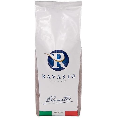 Кофе зерновой обжаренный Блу нотте 1000 г, Caffe' Blu notte Ravasio 1000 gr.