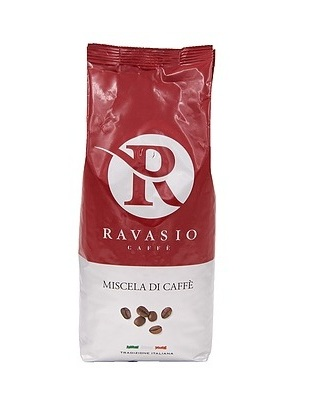 Кофе зерновой обжаренный Экстра Бар 1000 г,  Caffe' Ravasio Extra Bar 1000 gr