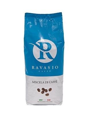 Кофе зерновой обжаренный Адзурро 1000 г,  Caffe' Ravasio Azzurro 1000 gr