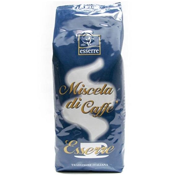 Кофе зерновой обжаренный Эссерре Промо 1000 г, Caffe' Esserre 1000 gr