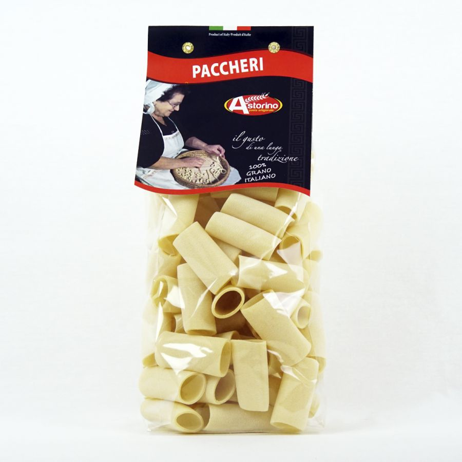 Паста Паккери 500 г, Paccheri Astorino 500 gr