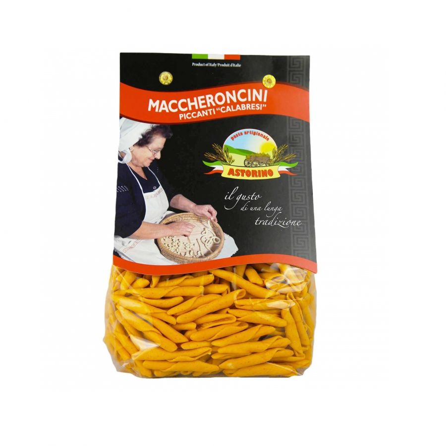 Паста Маккерончини пикканти 500 г, Maccheroncini piccanti Astorino 500 gr